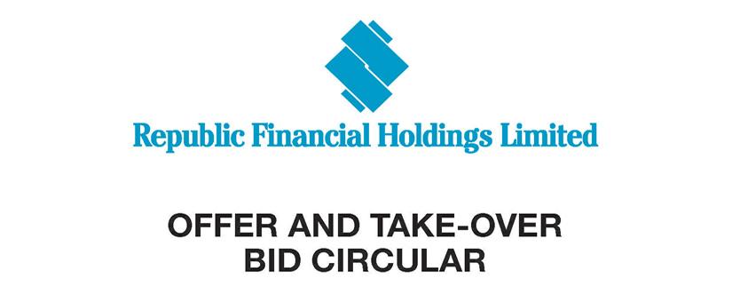 Offer and Take-Over Bid Circular