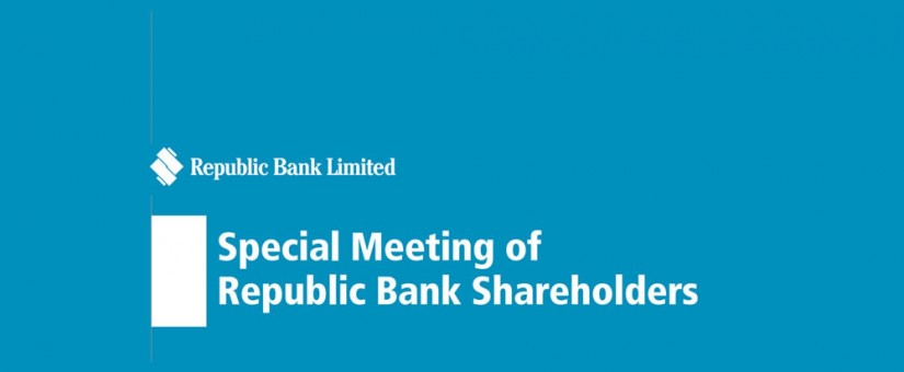 Republic Bank Shareholders Special Meeting